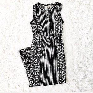 Loft printed maxi dress